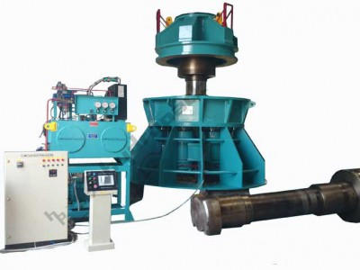 Hydraulic Press Of 1600t Cap. For Clamping Stators