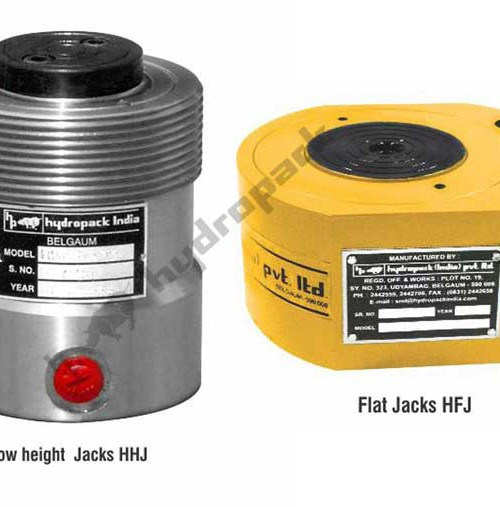 Pan Cake / Low Height / Flat Jacks : HHJ / HFJ Series