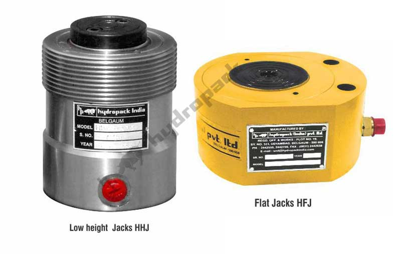 Pan Cake / Low Height / Flat Jacks : HHJ / HFJ Series