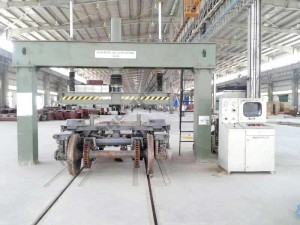 Static Bogie Load Testing Machine – 50T Capacity