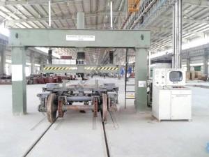 Static Bogie Load Testing Machine – 50T Capacity